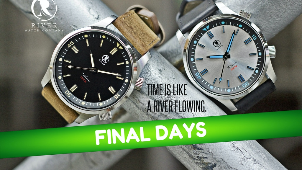 Introducing the River Watch Company Tiber Diver project video thumbnail