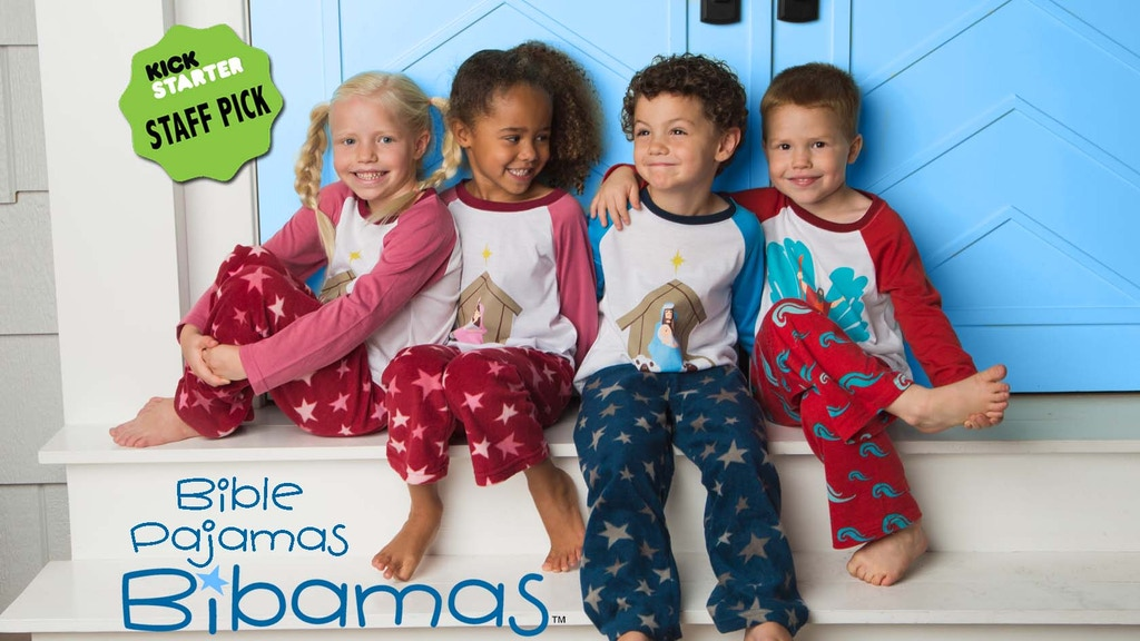 BIBAMAS: [by-bam-uhz]!  First Ever Bible Pajamas project video thumbnail