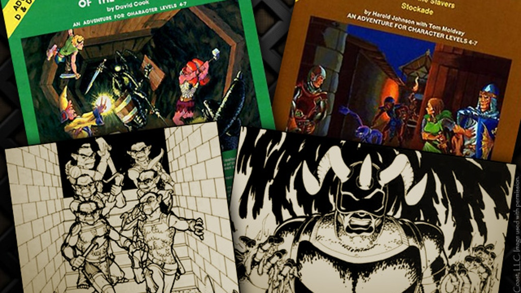 Re-Creating My Art from AD&D Modules A1 & A2 project video thumbnail