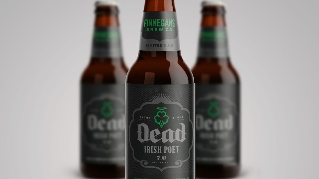 FINNEGANS Beer Dead Irish Poet Extra Stout project video thumbnail