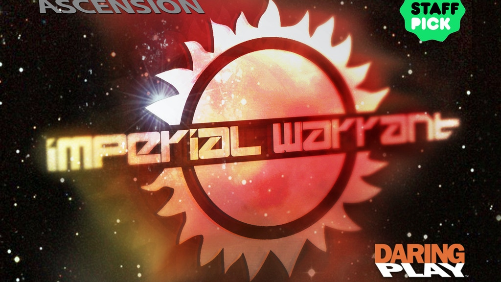 Traveller Ascension: Imperial Warrant Boardgame project video thumbnail