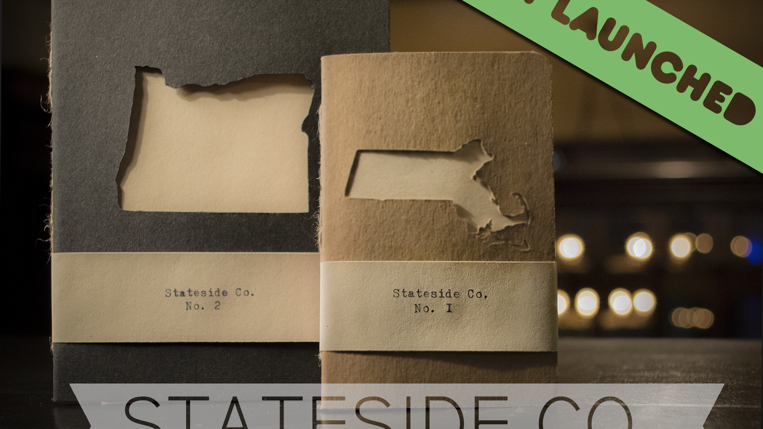 All fifty states featured in adventurous notebooks, hand-made using top quality French and Tomoe River Paper in Portland, Oregon.