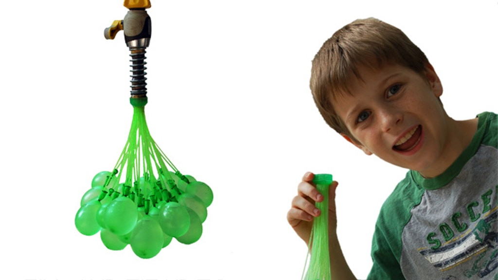 Bunch O Balloons: 100 Water Balloons in Less Than 1 Minute project video thumbnail
