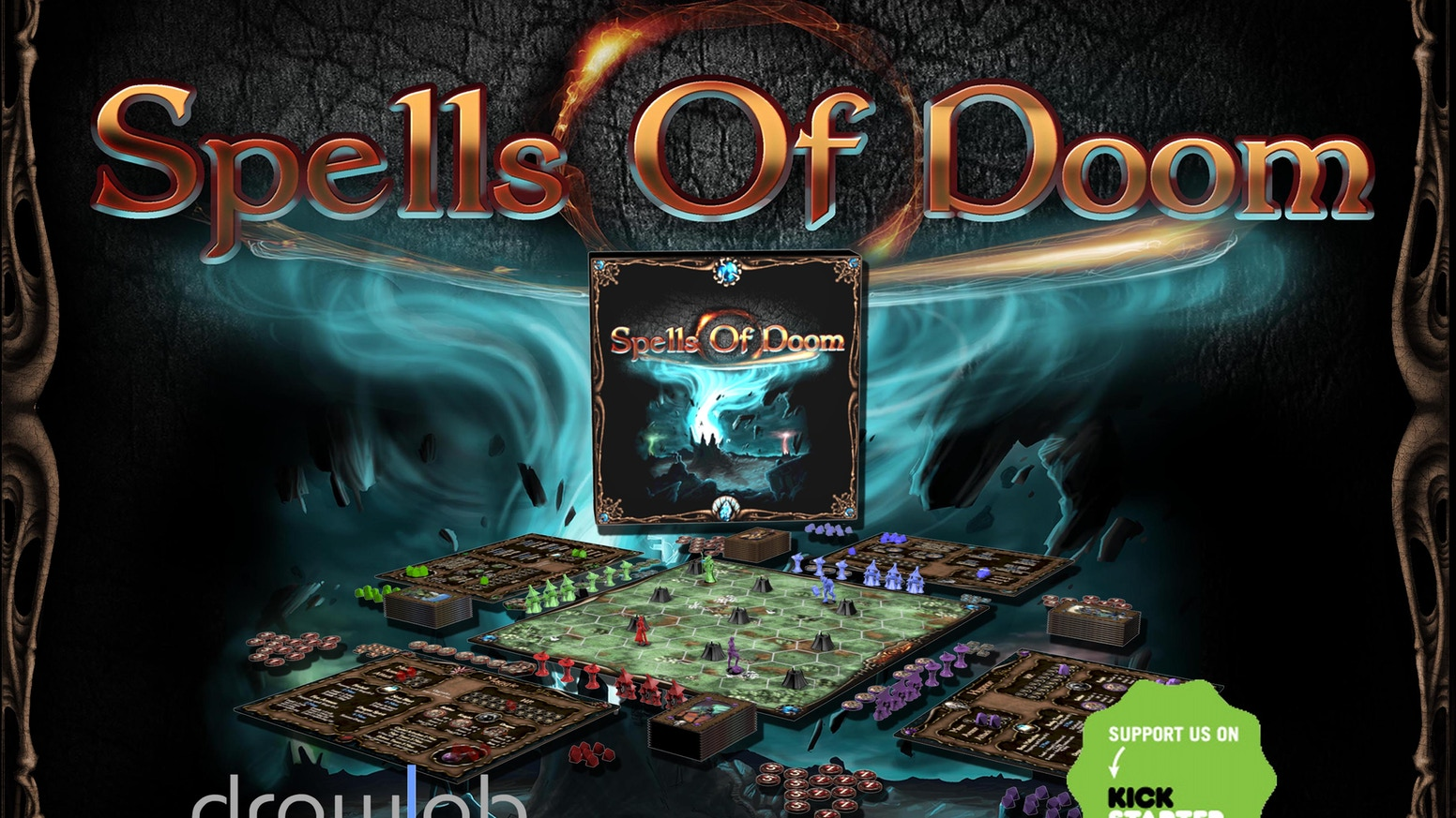 Become a hero and take the fate of the realm in your hands in a fight full of magic in this new boardgame!
