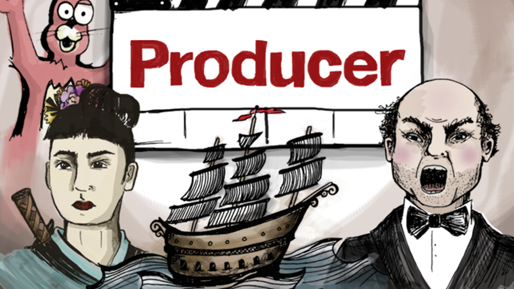 Producer: the movie making, story telling card game project video thumbnail