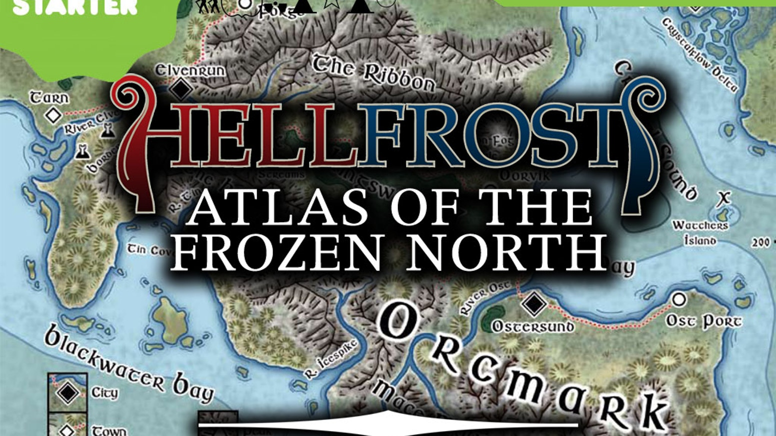 See the Land of Ice and Snow in Hi-Def! Atlas of the Frozen North brings new detail and exquisite maps for your adventures in Rassilon.