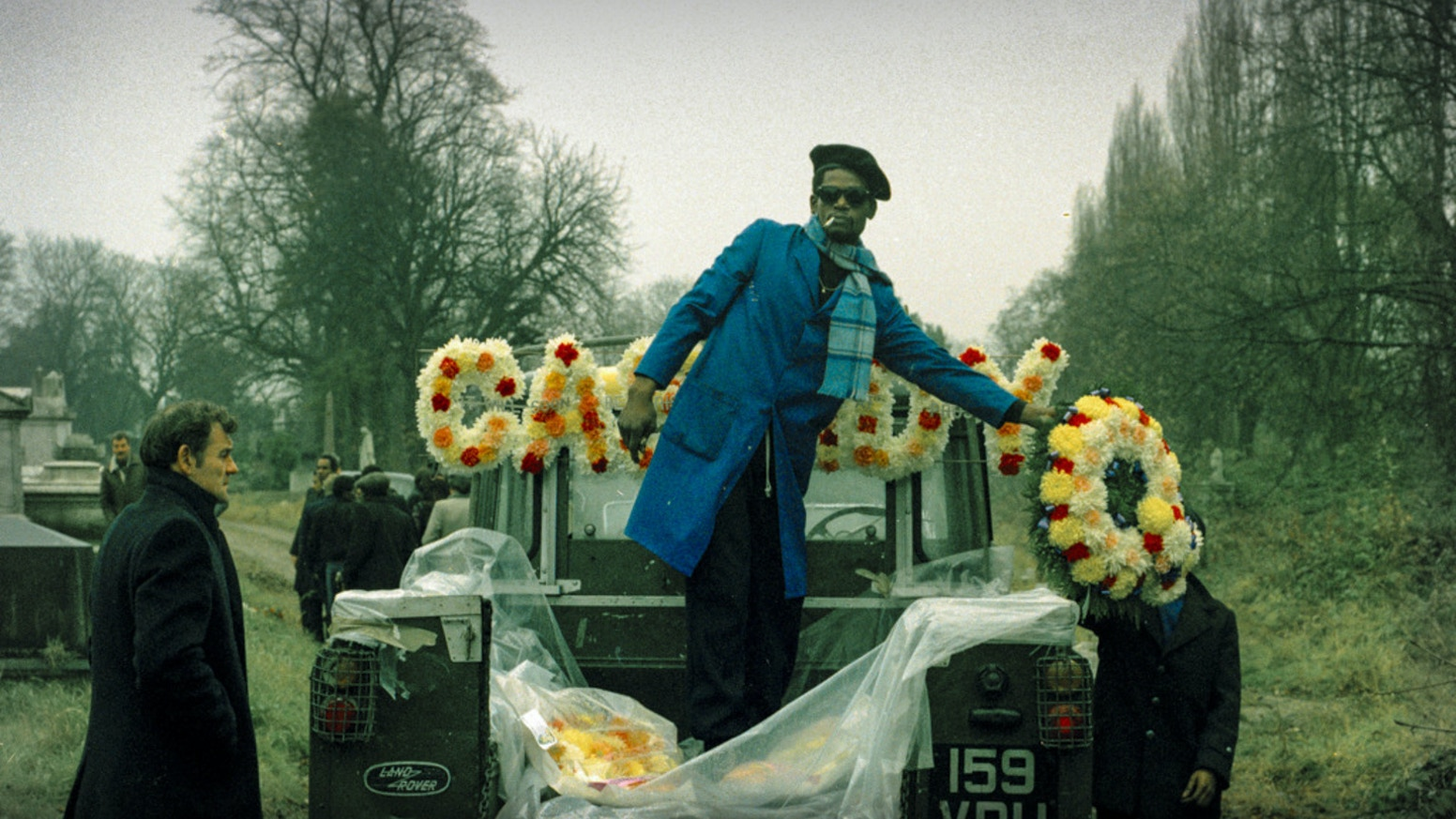 A photographic book documenting 50 years of African Caribbean funerals in London by Charlie Phillips.