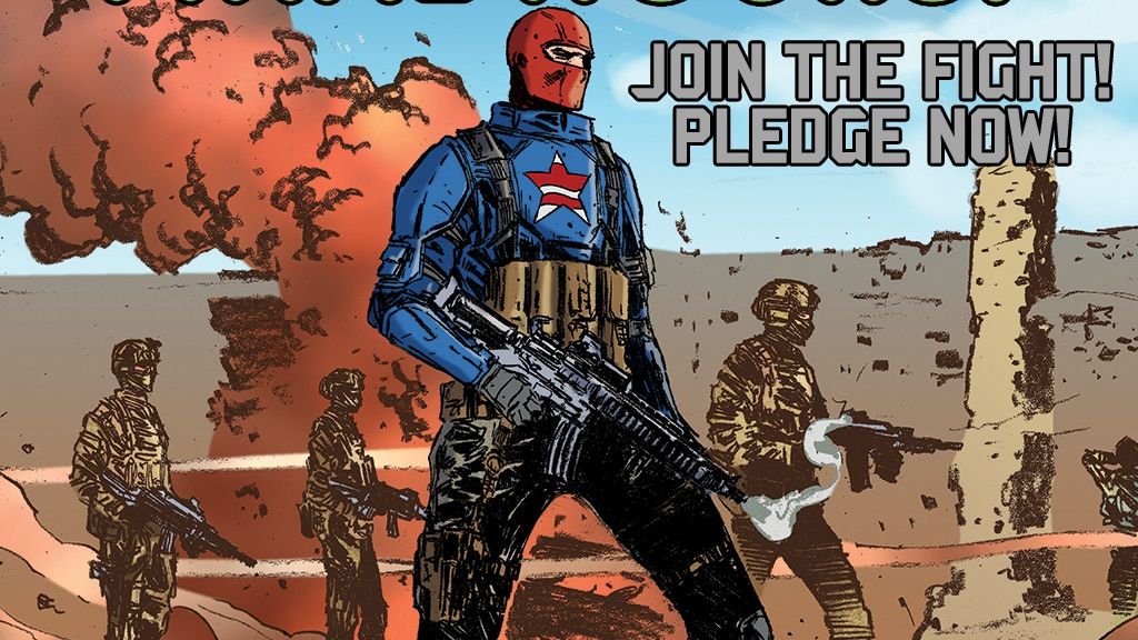 Patriot-1: An action-packed original graphic novel project video thumbnail