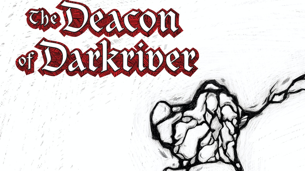 The Deacon of Darkriver (Djákninn á Myrká) comic project video thumbnail
