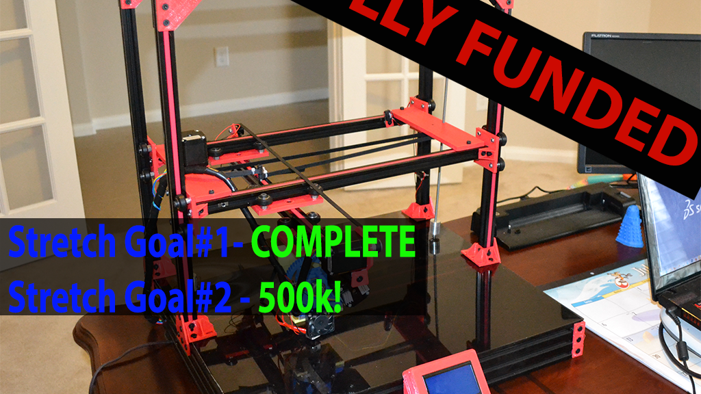 Cobblebot 3D Printer project video thumbnail