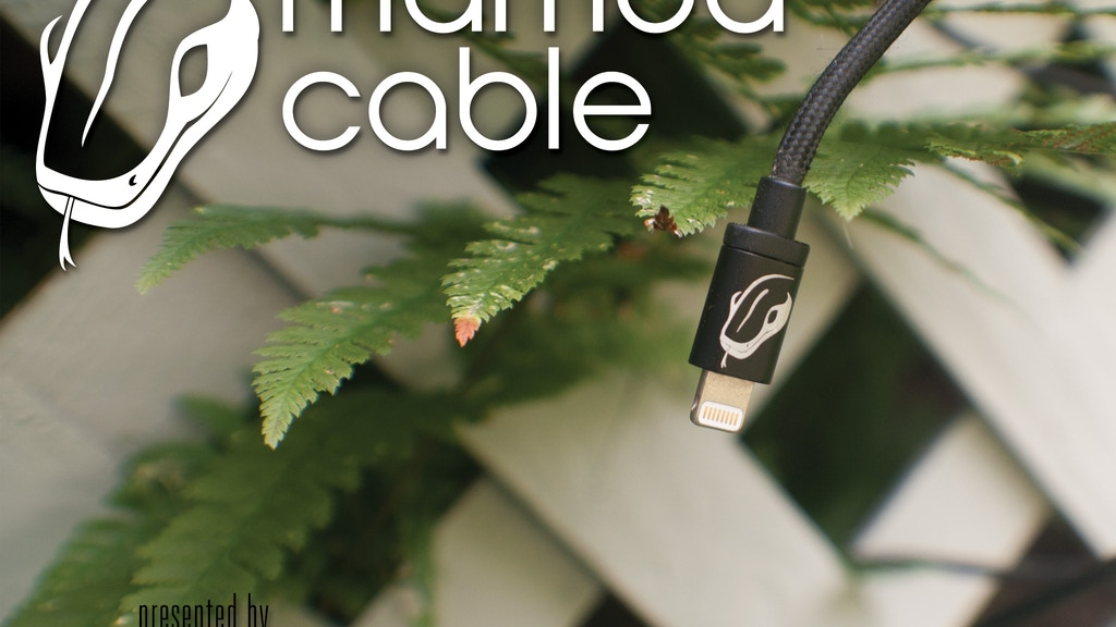 Mamba Cable The 10' LONG Cable for iPhone, iPad, and iPod project video thumbnail