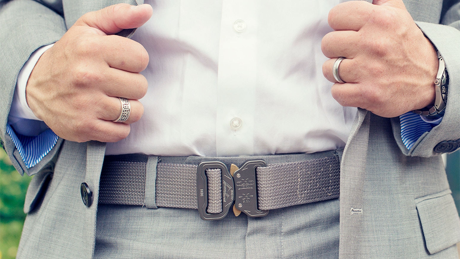 Klik Belts combine the strongest quick release buckle on the planet with premium materials to craft a belt that will outlive you.