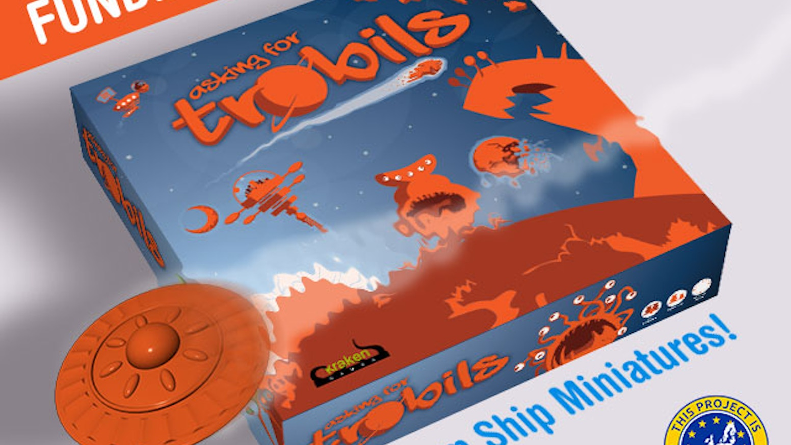 Asking for Trobils is an easy to learn, fast-paced Worker-placement game for 2-7 players!  Play time 45-75 min.