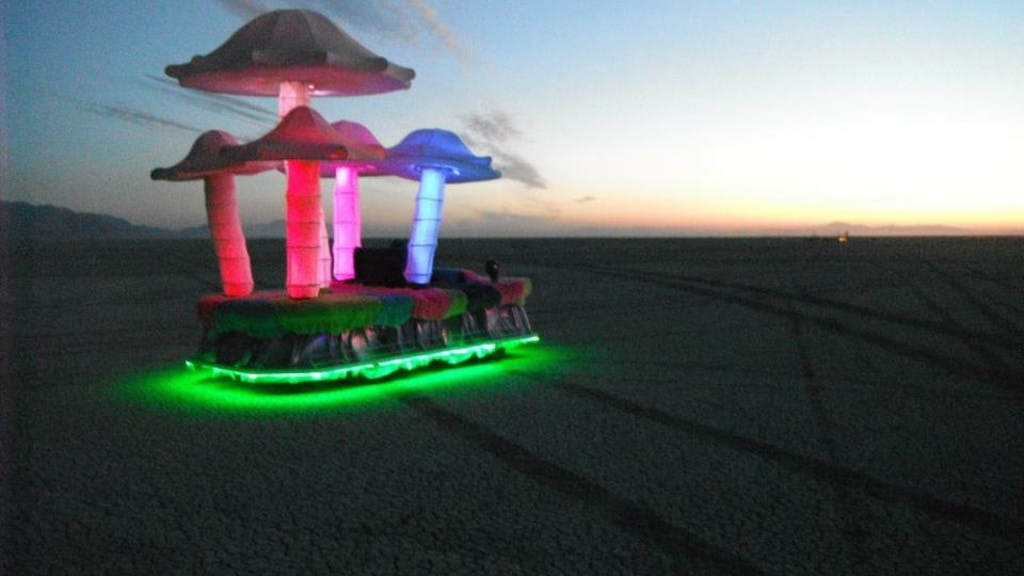 Bring the MUSHROOM PATCH ART CAR to Burning Man 2014! project video thumbnail