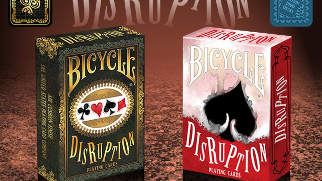 Bicycle Disruption Playing Cards project video thumbnail
