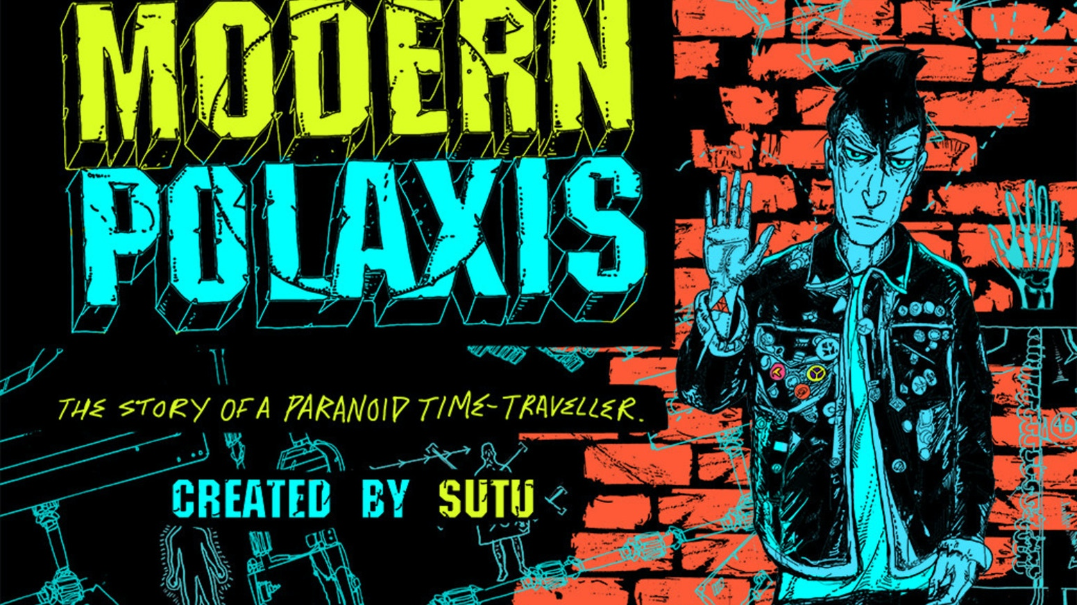 We successfully kickstarted the Modern Polaxis Augmented Reality comic book.