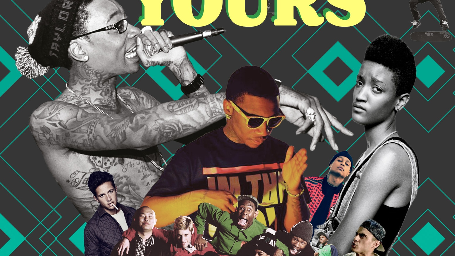 THE WORLD IS YOURS IS THE STORY OF HOW HIP-HOP'S USE OF THE INTERNET REVOLUTIONIZED THE MUSIC INDUSTRY
