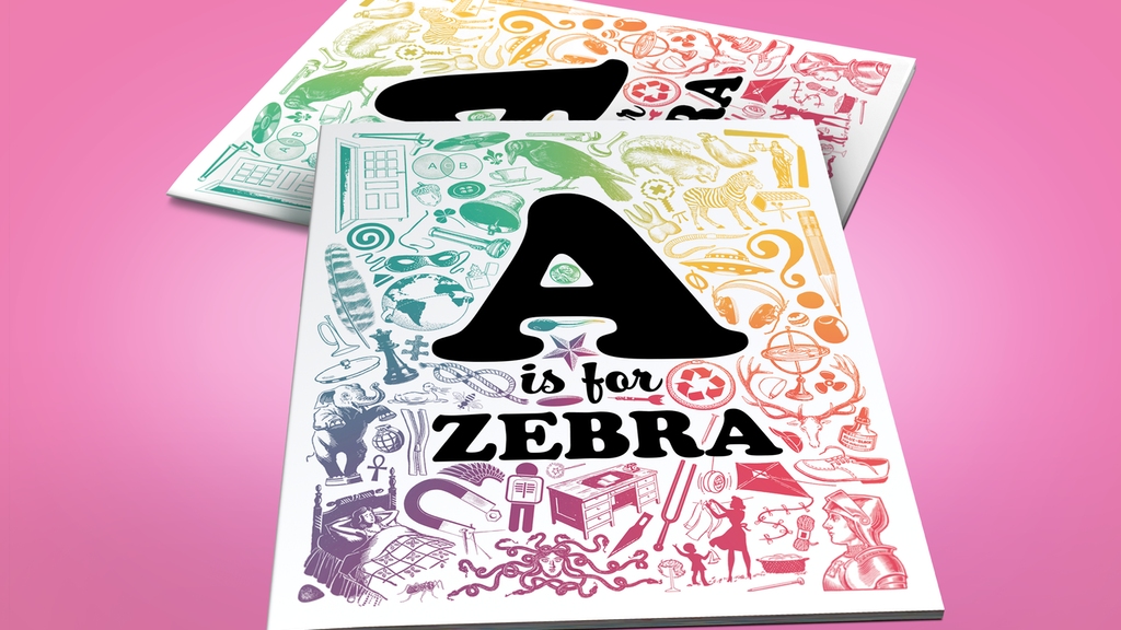 A is for Zebra Alphabet Book by Sean Tejaratchi project video thumbnail