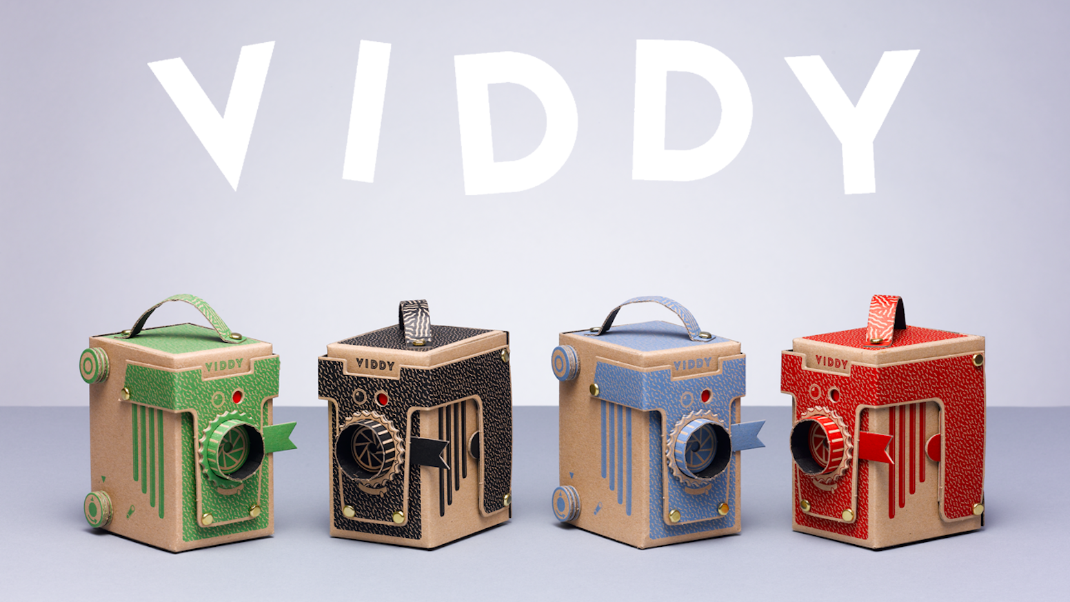 VIDDY is the world's cutest DIY medium format & 35mm pinhole camera. It's fun, educational and takes less than 30 minutes to make!