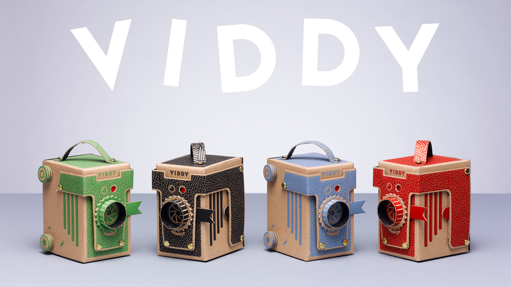 VIDDY: The world's cutest DIY pinhole camera project video thumbnail