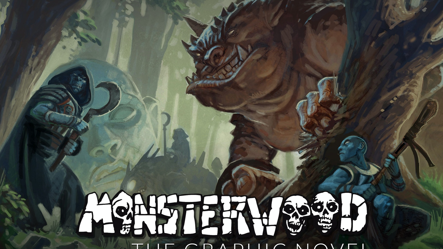 Monsterwood: Book 1 Graphic Novel is a coming of age, fantasy story, set in an ancient, haunting, and beautiful world of Magog.