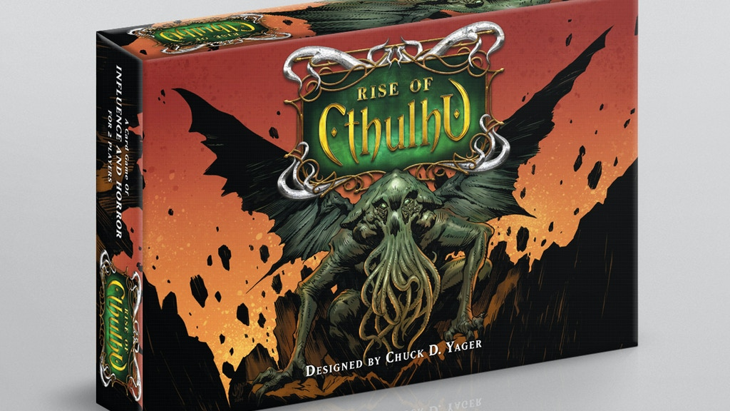 Rise of Cthulhu - A Card Game of Influence and Horror project video thumbnail