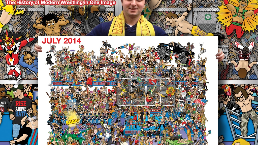 Wrestling Mishmash - History of Wrestling in One Image project video thumbnail
