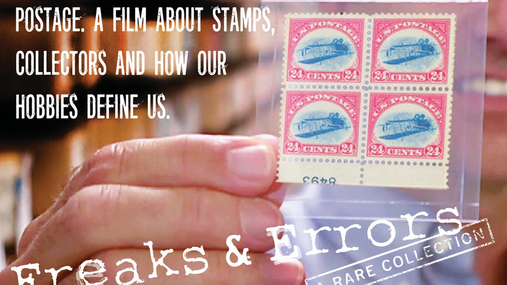 Freaks & Errors. A documentary film about stamp collectors project video thumbnail