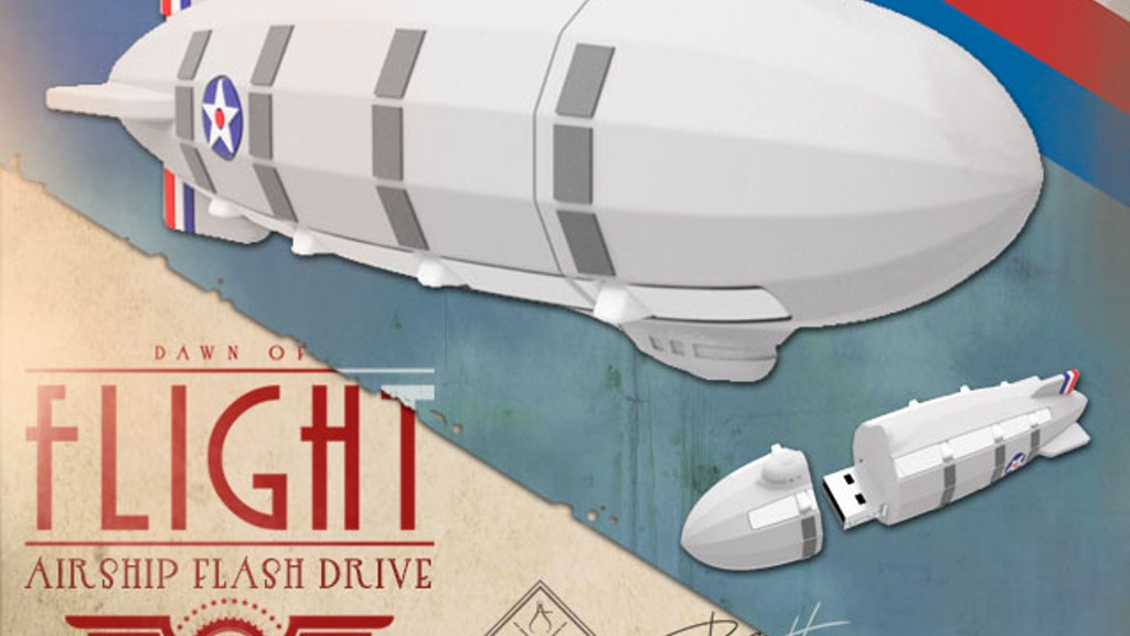USB Airship/Zeppelin Flash Drive project video thumbnail