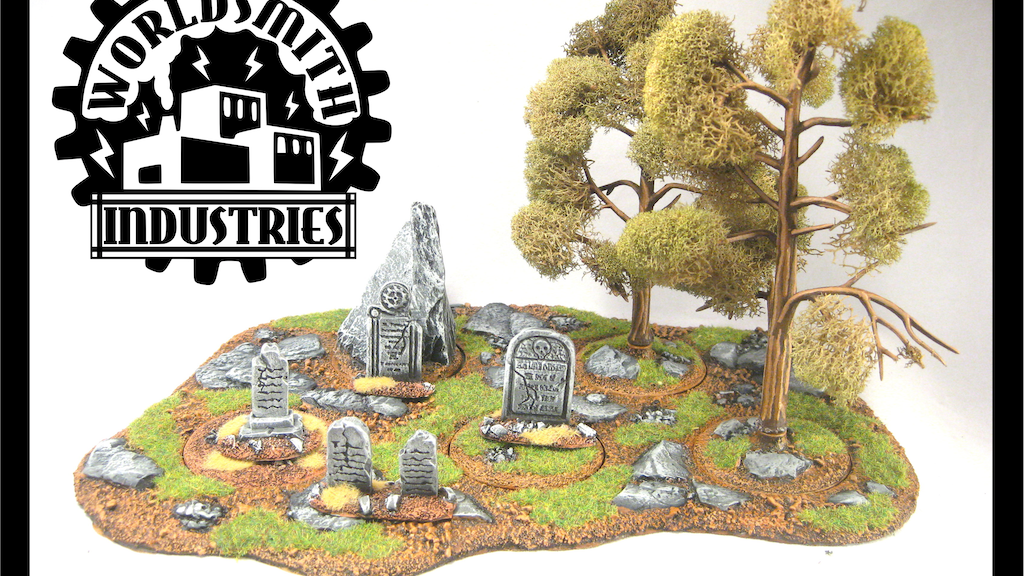 Resin Terrain for Miniature Gaming project video thumbnail