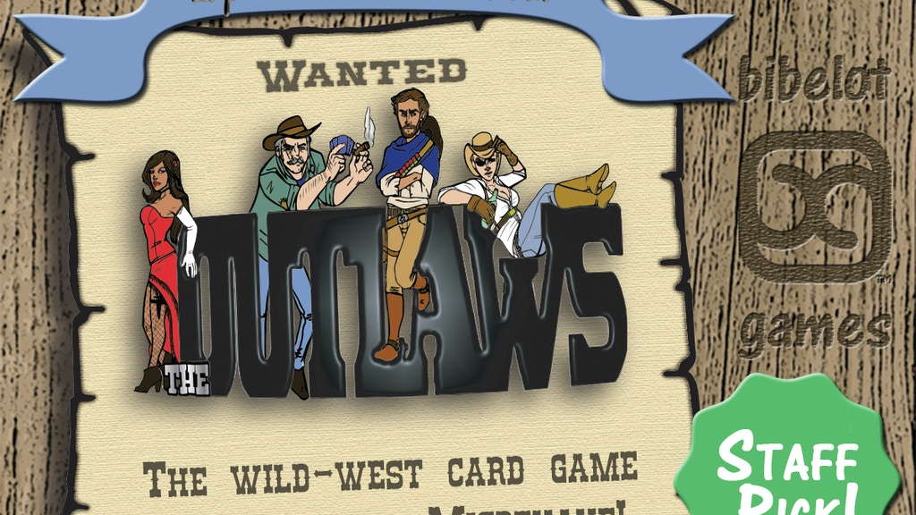 Wanted: The Outlaws project video thumbnail