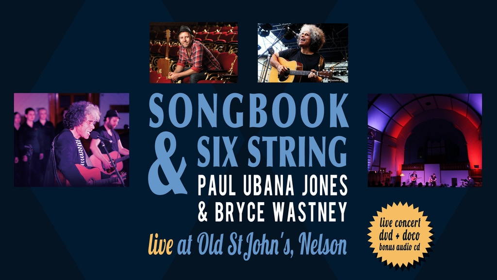 Songbook & Six String - Live Concert & Documentary DVD/CD project video thumbnail