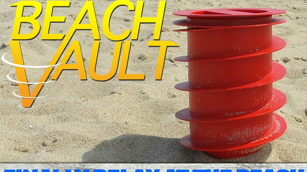 Conceal Your Valuables - Relax With The Beach Vault project video thumbnail
