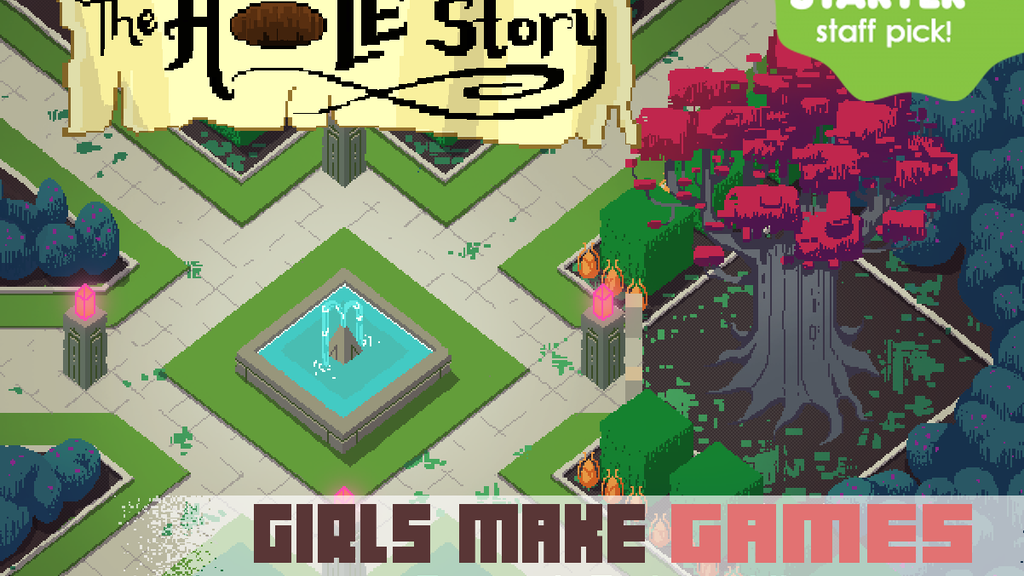 Girls Make Games Presents: The Hole Story! project video thumbnail