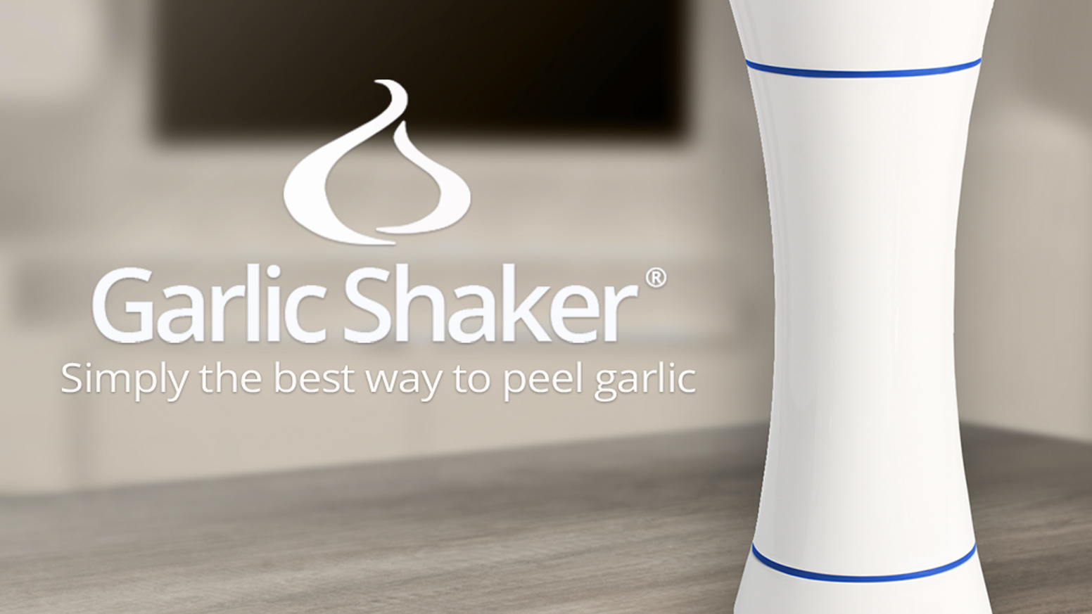 Garlic Shaker® makes peeling garlic simple and fun! Just shake it up!
