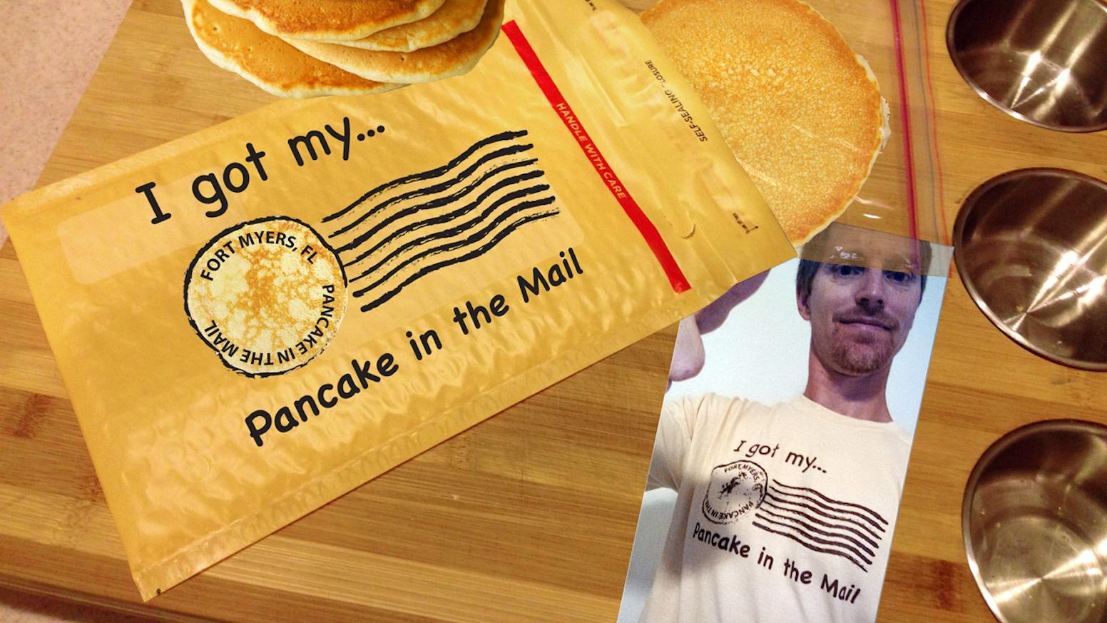 Pancake In The Mail By Mark Cesal Kickstarter