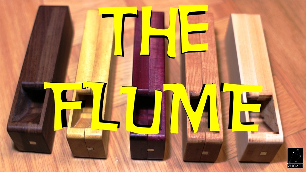 The FLUME - Dice Tower - Dice Case - Hardwood RNG Solution project video thumbnail