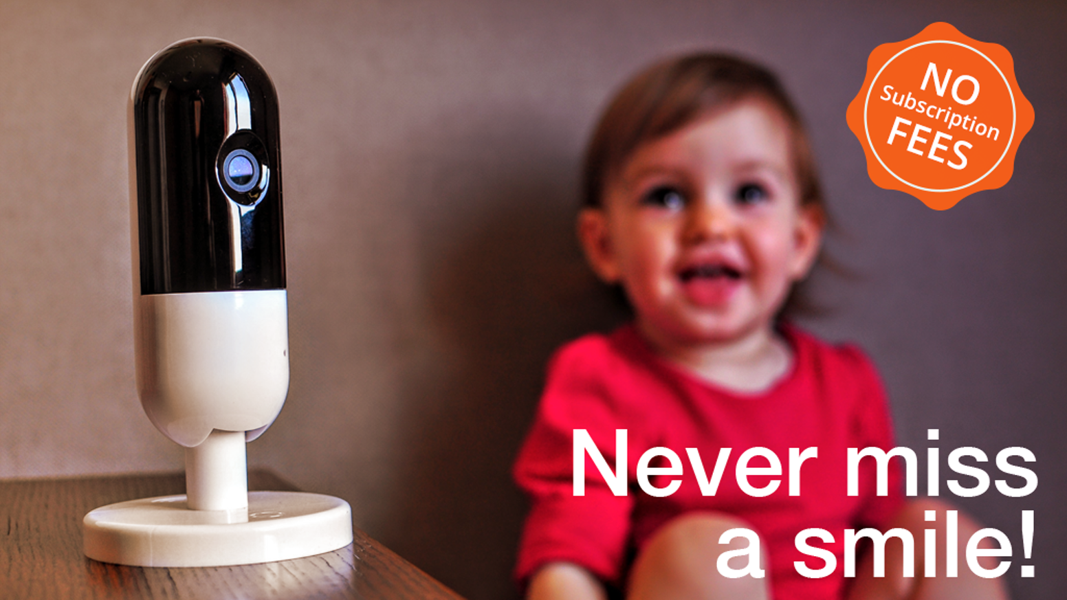 First child monitoring solution that employs Artificial Intelligence (A.I.) to give parents smart daily highlights and smile detection