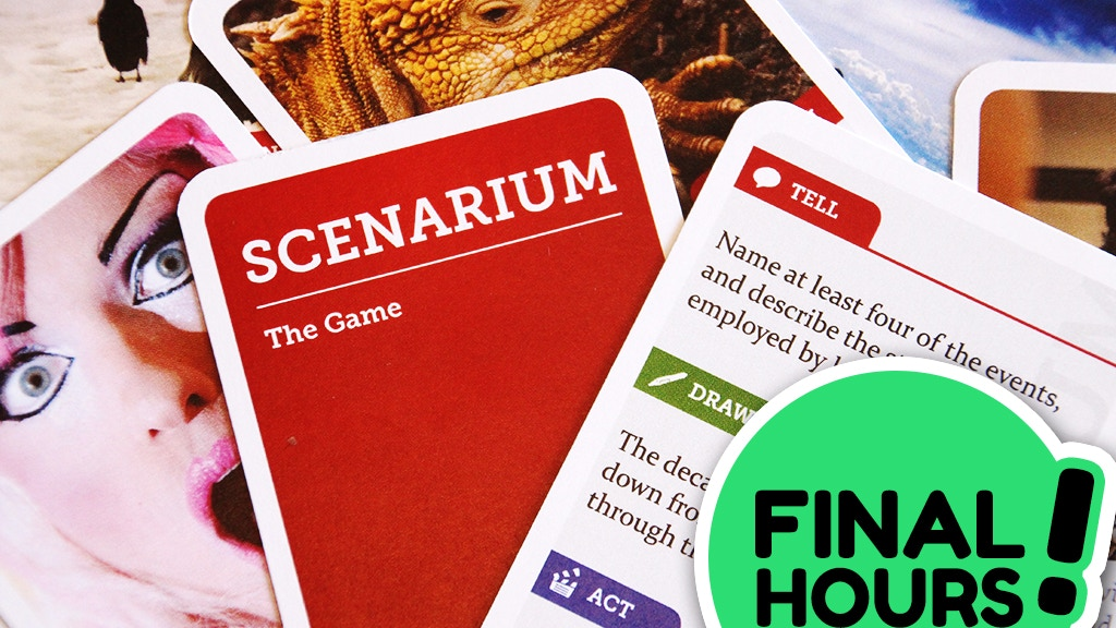 Scenarium - a party game for storytellers project video thumbnail