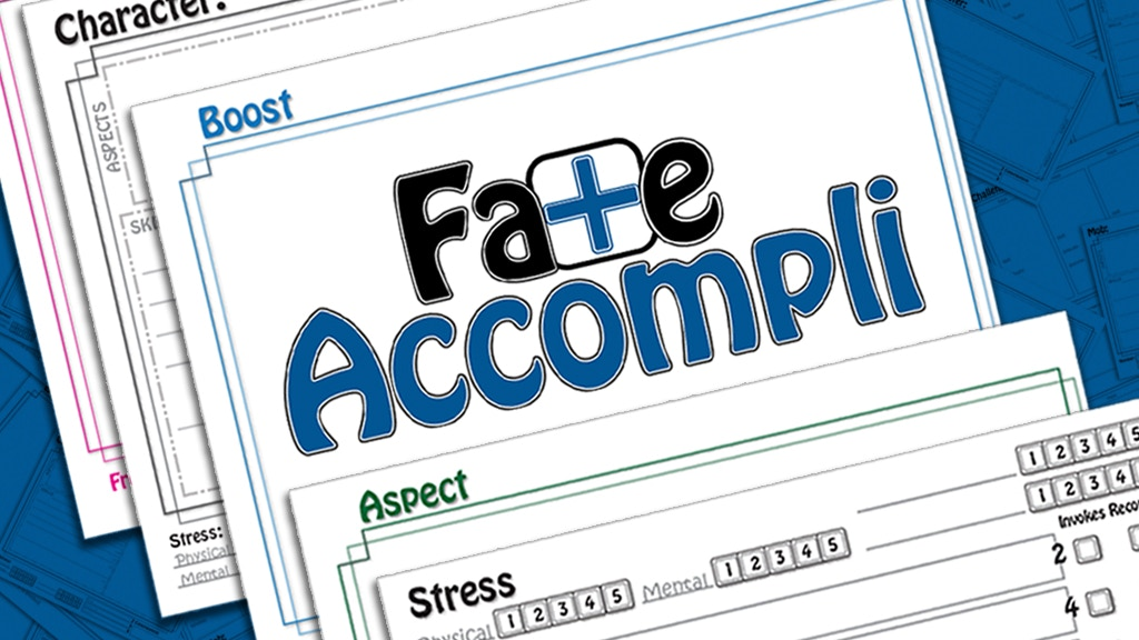 Fate Accompli - Erasable Game Aids project video thumbnail