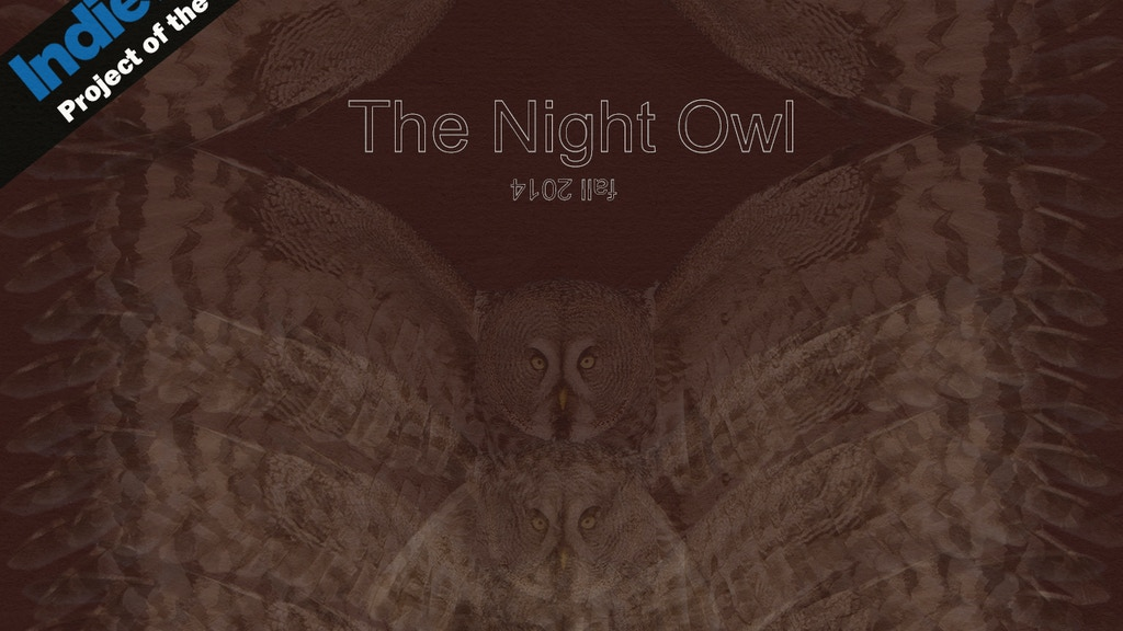 The Night Owl project video thumbnail