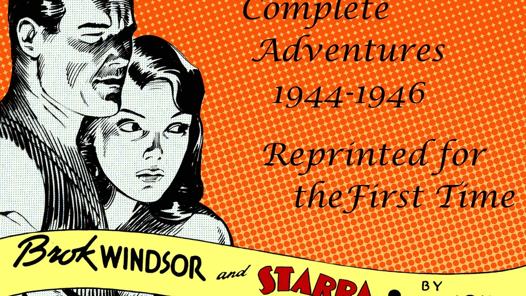 Brok Windsor - Lost WWII Comic Book Returns! project video thumbnail