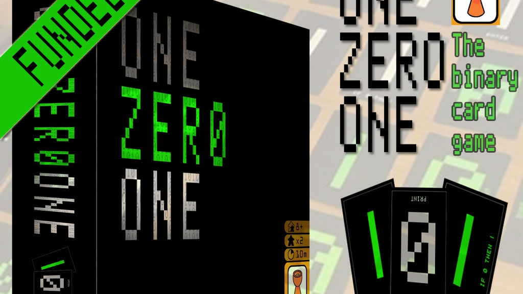 One Zero One - The binary card game project video thumbnail