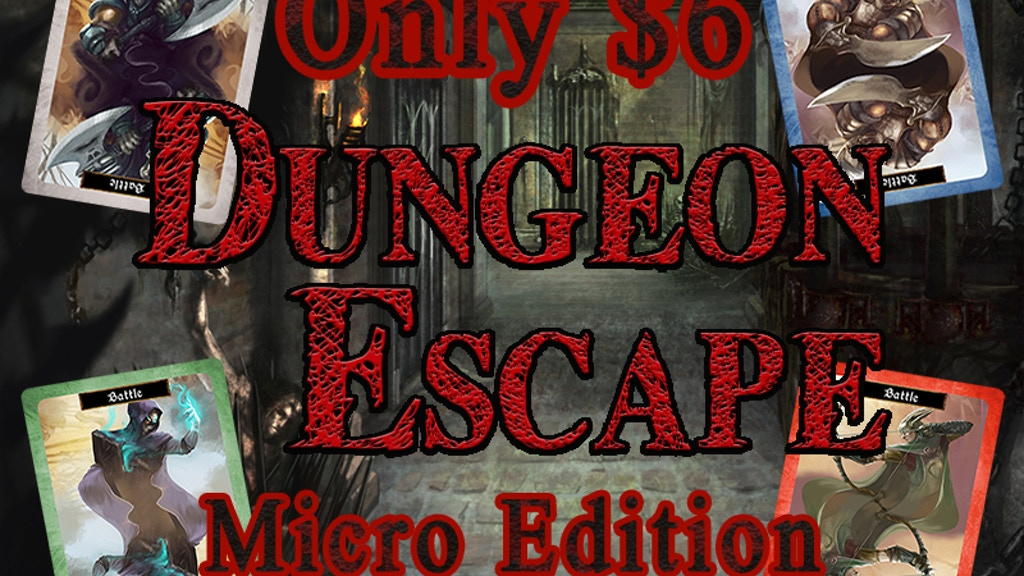 Dungeon Escape Micro Edition - The Classic Game of Memory project video thumbnail
