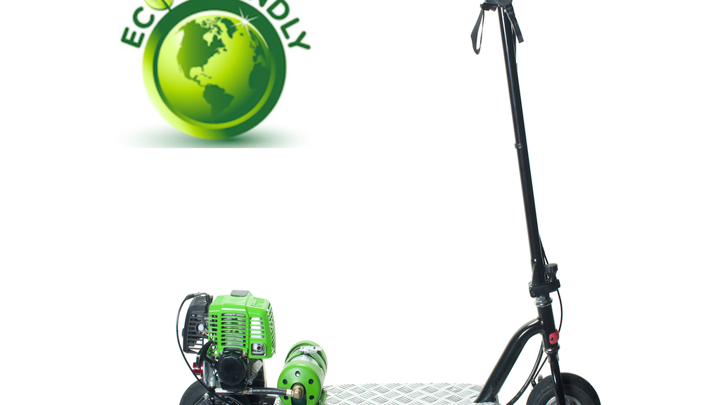 Propane Powered Motor Scooter-Go Clean, Go Green, Go PROGO! project video thumbnail