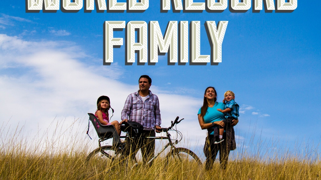 World Record Family: Pedaling America for a Greener World project video thumbnail