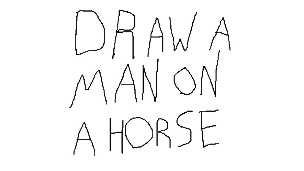 Draw a man on a horse by Matt Bitner —Kickstarter