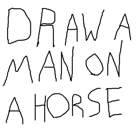 Draw a man on a horse by matt bitner kickstarter i would like to draw a man on a horse i am not a professional ccuart Gallery