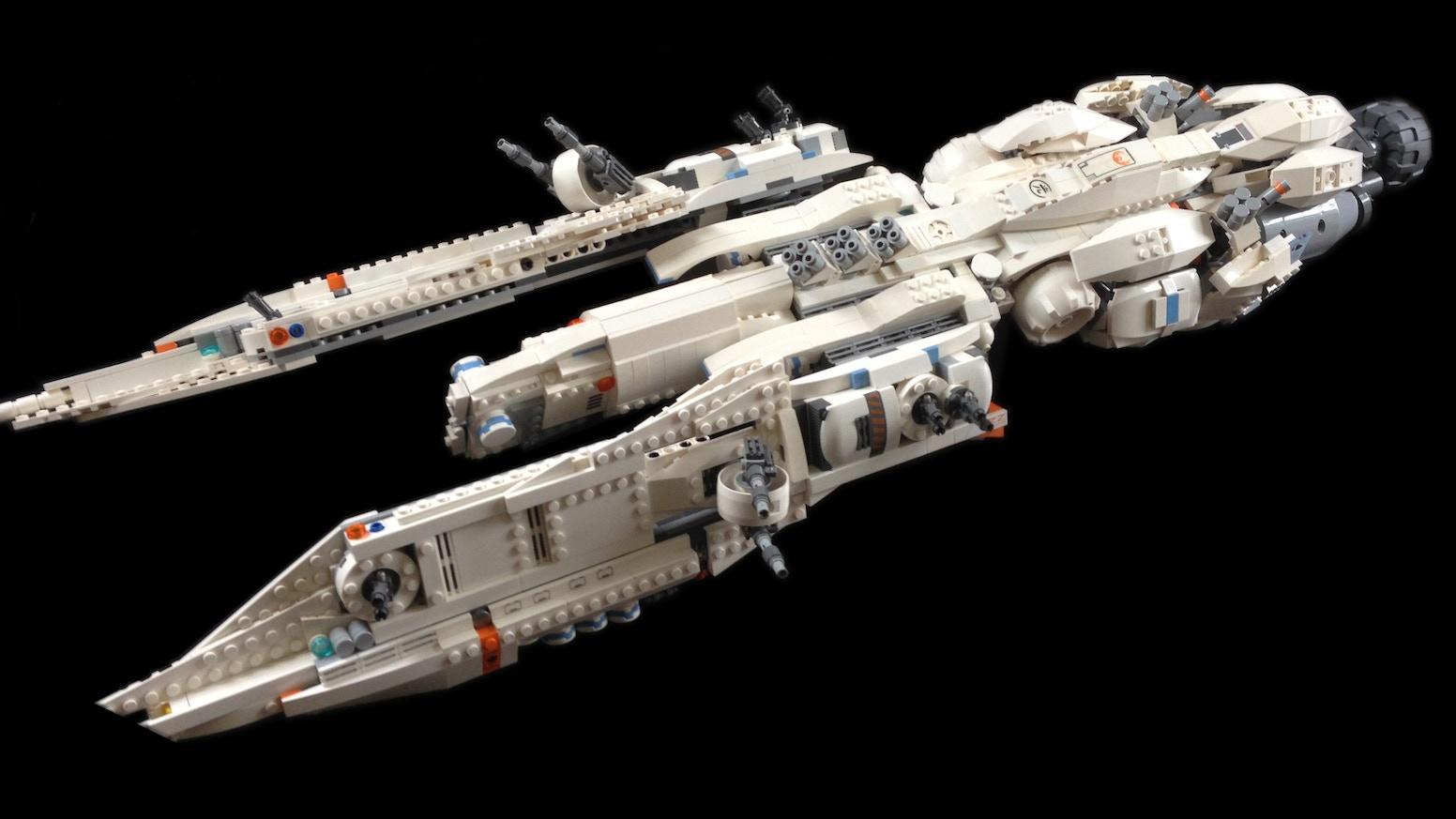 Chris builds a really big LEGO spaceship by Chris Boen — Kickstarter
