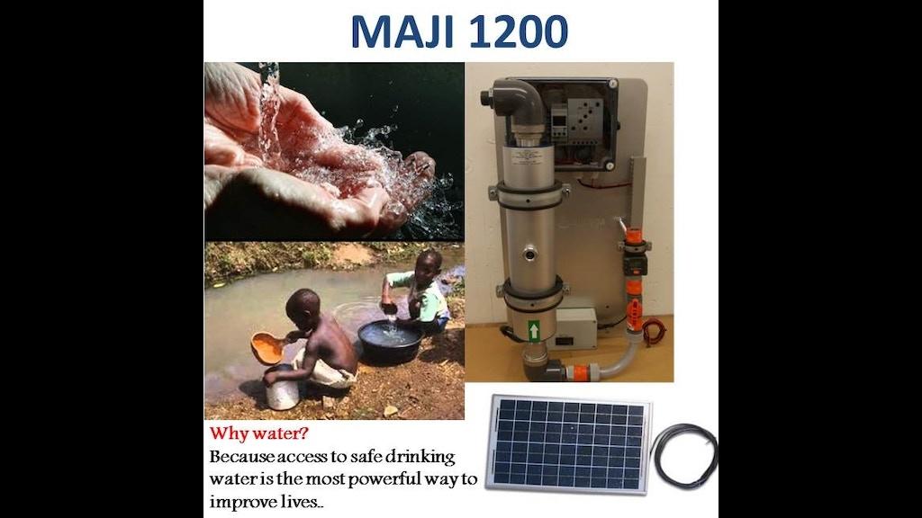 Innovative solar water purification system for africa by lloyd muzangwa kickstarter - Innovative water decontamination project ...